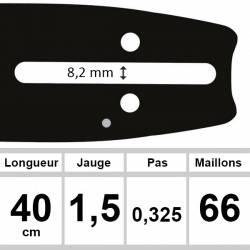 Guide OZAKI 40cm 0,325 1,5mm