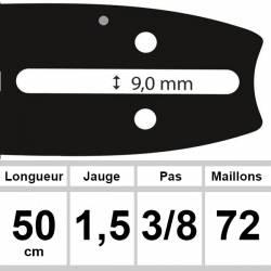 Guide OZAKI 50cm 3/8 1.5mm