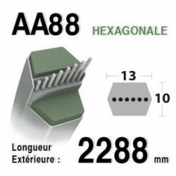 COURROIE AA88 - MTD - 7540443A