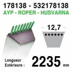 Courroie AYP - ROPER 178138 HUSQVARNA 532178138