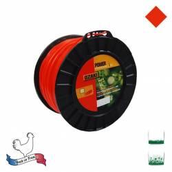 Bobine fil nylon carré OZAKI Premium - 2.70mm x 170m - Qualité professionnelle - Fabrication française