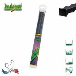 Tube 20 fils nylon cranté Nylsaw - 4mm x 26cm - Qualité professionnelle - Fabrication française