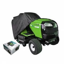 Housse de protection 177 x 110 x 110 cm pour tracteur tondeuse autoportée à éjection latérale