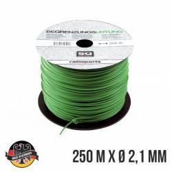 Câble périmétrique GARDENA 4088-20 - 9668096-01 pour robot tondeuse 250 mètres diamètre 2,1 mm - Fabrication allemande