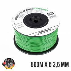 Câble périmétrique OUTILS WOLF RO200 - RO300 pour robot tondeuse 500 mètres diamètre 3,5 mm - Fabrication allemande