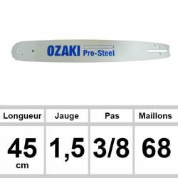 Guide OZAKI 45 cm 3/8 1,5mm