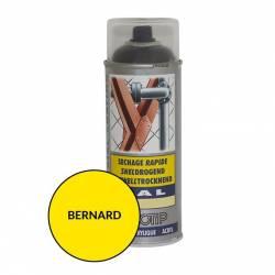 Peinture spéciale motoculture couleur JAUNE BERNARD - Aérosol 400ml