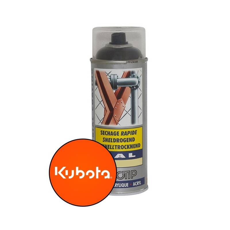 peinture sp ciale motoculture couleur orange kubota On peinture orange kubota