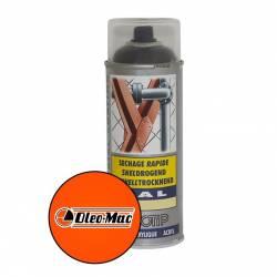 Peinture spéciale motoculture couleur ORANGE OLEO MAC - Aérosol 400ml