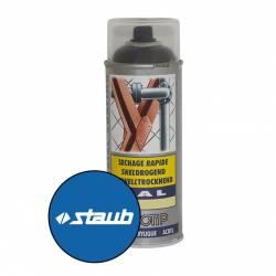 Peinture spéciale motoculture couleur BLEU STAUB - Aérosol 400ml