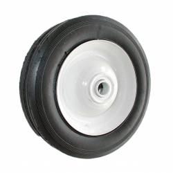Roue en acier à moyeu centré universelle - diamètre extérieur 178mm - largeur 38mm - longueur moyeu 50,8mm - alésage 12,7mm