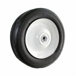 Roue en acier à moyeu centré universelle - diamètre extérieur 203mm - largeur 44mm - longueur moyeu 50,8mm - alésage 12,7mm