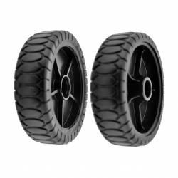 Roue CASTELGARDEN 81007317/0 modèles NP534 - T430 - 434 - 480 - 484 - TD430 - 434 - 480 - 484 - 534 - TDL430 - 434 - 480
