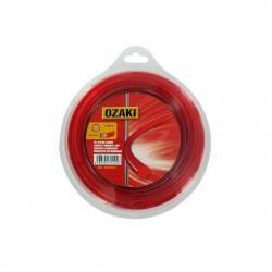 Coque fil nylon rond OZAKI 130 m diamètre 2,00 mm