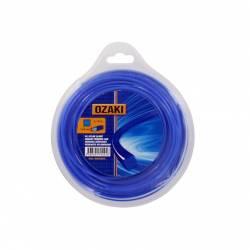 Coque fil nylon carré OZAKI 30 m diamètre 3,00 mm