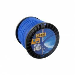 Bobine fil nylon carré OZAKI 60 m diamètre 3,00 mm