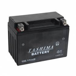 Batterie YTZ12S + à gauche