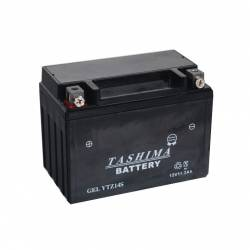 Batterie YTZ14S + à gauche