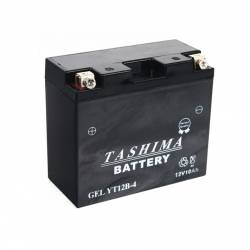 Batterie YT12B4 + à gauche