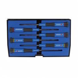 Coffret de 6 tournevis électroniques anticorrosion GEDORE