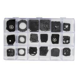 Coffret de membranes et joints de carburateur ZAMA C1 - C1S - C2 - 85 pièces
