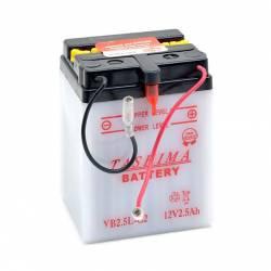 Batterie YB25LC2 + à droite