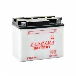 Batterie YB12BB2 + à gauche