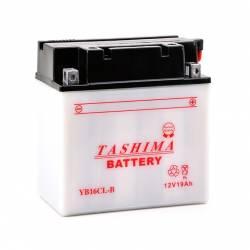 Batterie YB16CLB + à droite