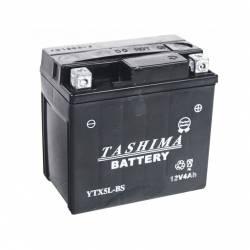 Batterie YTX5LBS + à droite
