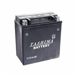 Batterie YTX16BS + à gauche - sans entretien