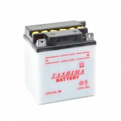 Batterie 12N55A3B + à droite