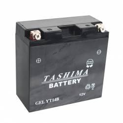 Batterie YT14BBS + à gauche