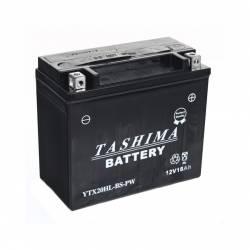 Batterie YTX20HLBSPW + à droite