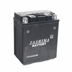 Batterie YTX14AHBS + à gauche