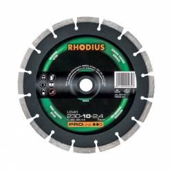 Disque diamant PROLINE diamètre 350 mm - 10 x 2,8 mm alésage 25,4 mm