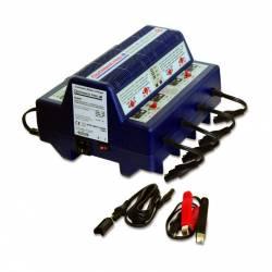 Chargeur et Testeur de batterie TECMATE pour batterie 6 et 12V