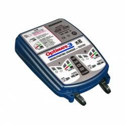 Chargeur de batterie TECMATE pour 2 batteries en même temps