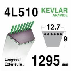 COURROIE KEVLAR 4L510 - 4L51 - MTD 7540251 - HONDA CG35061424H0 - CASTEL-GARDEN 35061424/0 - 35061423/0 - NOMA 56537 - 141407
