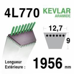 COURROIE KEVLAR 4L770 - 4L77 - MTD 75404062 - HUSQVARNA 532140910 - MURRAY 37 x 34