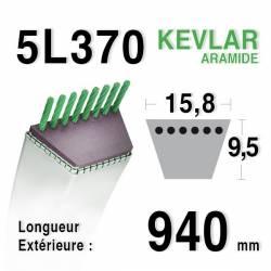 COURROIE KEVLAR 5L370 - 5L37 - MTD 7540173/90-47-659