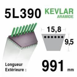 COURROIE KEVLAR 5L390 - 5L39 - JOHN DEERE M82258