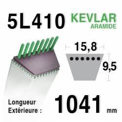 COURROIE KEVLAR 5L410 - 5L41 - KUBOTA 7072232430