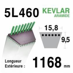 COURROIE KEVLAR 5L460 - 5L46 - MTD 7540211 - 754-0211