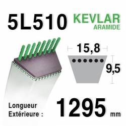 COURROIE KEVLAR 5L510 - 5L51 - MTD 7540188 / 754-0188 / 90-65-377