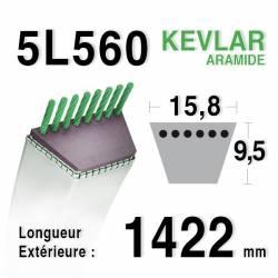 COURROIE KEVLAR 5L560 - 5L56 - Westwood 2226