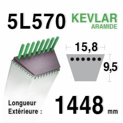 COURROIE KEVLAR 5L570 - 5L57 - VIKING 22949800