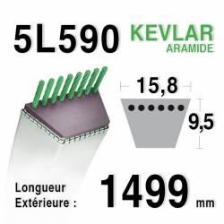 COURROIE KEVLAR 5L590 - 5L59 - MTD 7540937 - 7540957