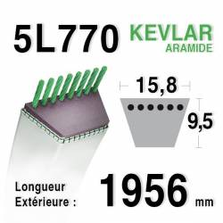 COURROIE KEVLAR 5L770 - 5L77 - Ransomes / Bobcat GSF 3514 CA - NOMA 300680