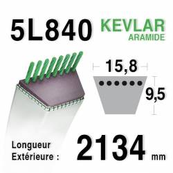COURROIE KEVLAR 5L840 - 5L84 - SNAPPER 7-9781