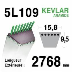 COURROIE KEVLAR 5L1090 - 5L109 - MURRAY 37x93